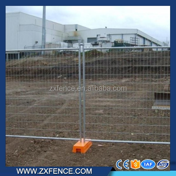 Waterproof hot dip galvanized outdoor fence temporary fence wholesale