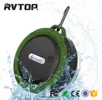 Hot Sell waterproof wireless shower BLE speaker music player C6 speaker portable vibration speaker with high quality
