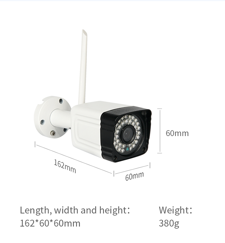 Inqmega\Shiwojia HD 720P CCTV Security Camera System Wireless IP Wifi Camera Outdoor