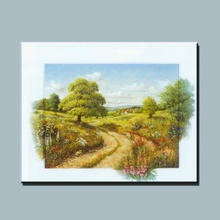 BC13-7712 Canvas natural rural landscape oil painting for home decor