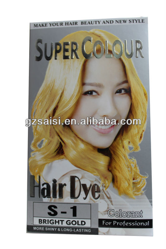 guangzhou natural greening hair color cream