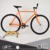 "1"" simple style fixed gear classic steel frame fixie bike bicycle"