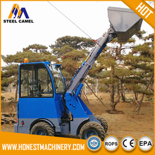 Chinese wheel loader, joystick control, quick hitch system, hydrostatic 4wd for sale