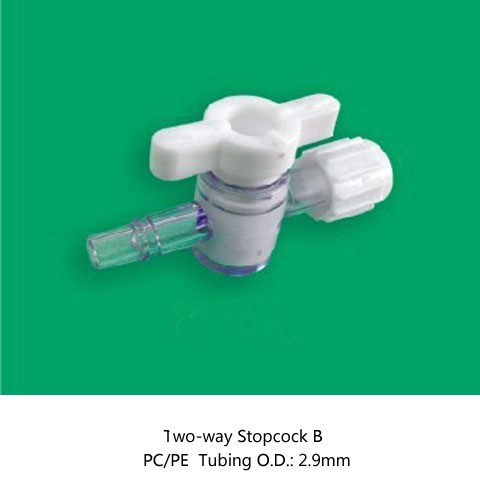 Medical disposable plastic one way stopcock