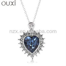 OUXI Hot sale fashion diamond necklace designs 10273