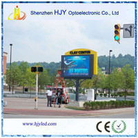 low price p10 outdoor advertising LED Board design petrol station