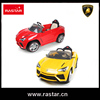Rastar new products 2.4G remote control ride on car with safety belt