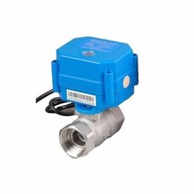 CWX-15Q/N brass mini motorized ball valve dn15 2 way