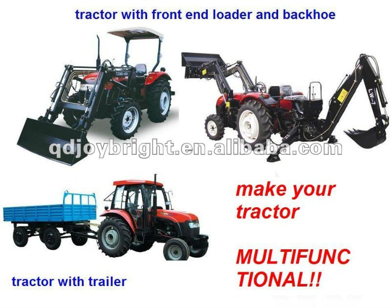 round hay baler for tractor
