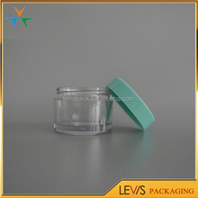 Widely use empty acrylic cream jars cosmetics