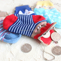 Hot sale cute wallet produced by socks, woman wallet, coin wallet