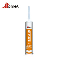 Homey 560 gap filler water based acrylic joint sealant with highly flexible and waterproof ability