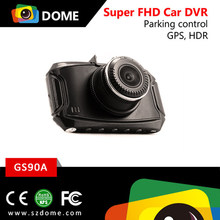 2.7 inch screen display Ambarella A7LA50 dashcam super hd 1296P dash cam,dashboard camera HDR G-senor ADAS car cam
