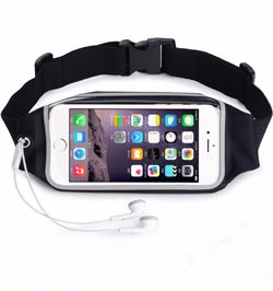 Touchscreen Compatible For iPhone 6/6 Plus Sport Running Belt Bag