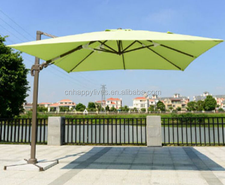 Wholesale promotional custom Happy lives HL-3018 outdoor beach umbrella