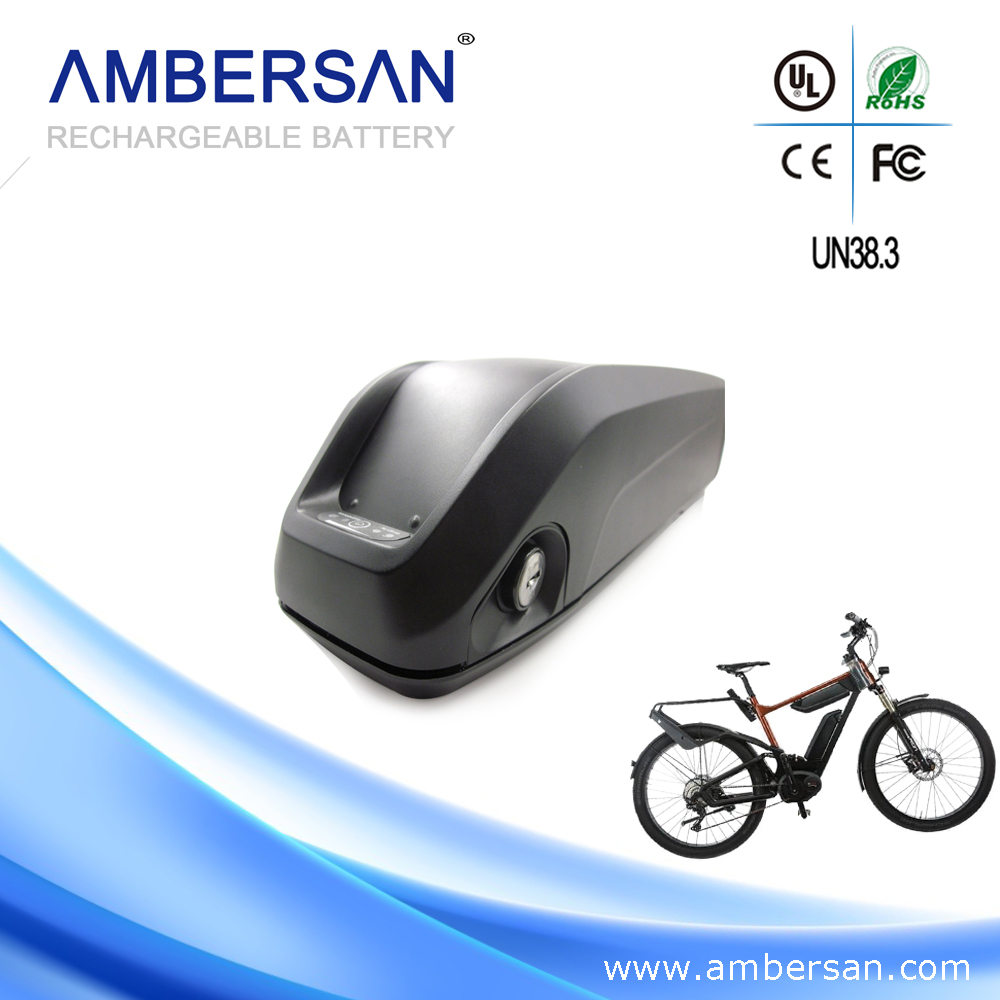 Safety high volt electric bicycle battery 36v 10ah lithium battery BMS