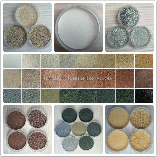 Natural gravels and aggregates bulk colored sand for Anti-slip surfacing