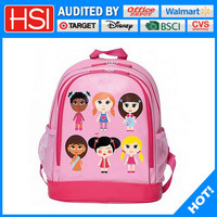 stationery lead free 600D doll printing bag school cartoon
