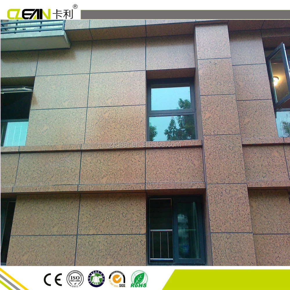 Weather proof fire resistant heat insulated exterior wall panel