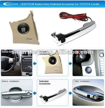 Sales Promotioon Keyless Remotes RFID Car Alarm System For Toyota Corolla