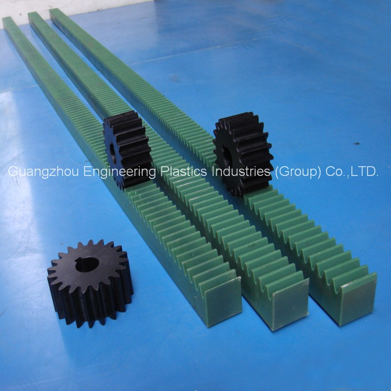Manufacture Best Quality White Rack Gears Pa6 Nylon6