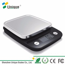11lbs Small Portable Light-weight Food Weighing Precision Plastic Electronic Digital Kitchen Weight scale 5KG