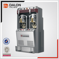 Dalong LD-682B Shoes Backpart Counter Moulding Setting Machine Air Bag type Italian technology shoes making machines