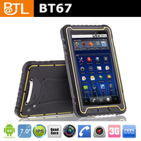 BZ127 BATL BT67 2016 WCDMA waterproof 7 inch Shipping transportation rugged tablet pc