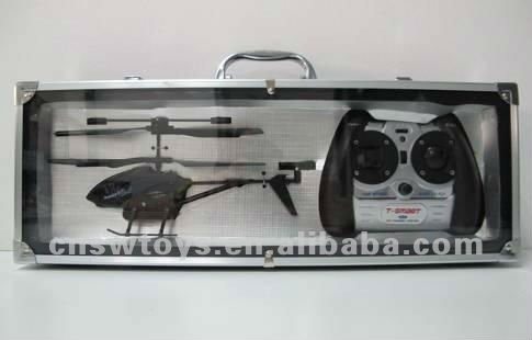 YK0805460 Android and iPhone control 3.5 Ch Metal Diecast RC Helicopter with Camera