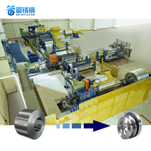 High quality steel Coil Slitting machine, used for aluminum, iron, stainless steel, etc.