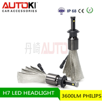 2016 new h1 h3 led head lamp and h8 h9 h11 h4 h7 led headlight bulb 9005 9006 auto car led headlight single beam H7 bulb