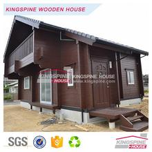 Japanese style 2-floor 3-bedroom design Wood House Prefab Log Home 103.04 m2 KPL-059