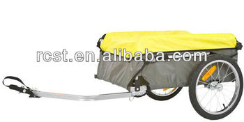Folding Bike Cargo Trailer with Rain cover