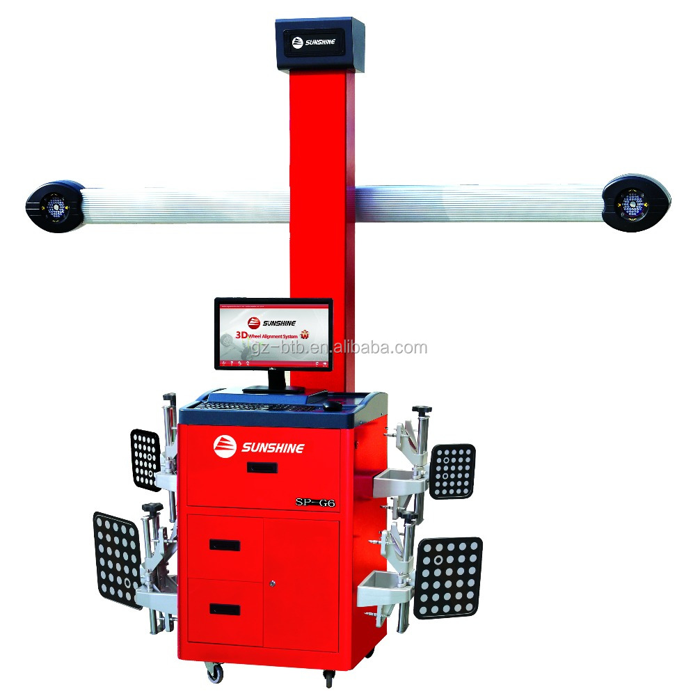 3D Four Wheel Alignment