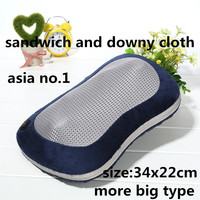 new care of cervical vertebra shiatsu safe start and stop by one button massage pillow