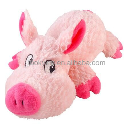 Super soft stuffed pig plush toys for kids playing