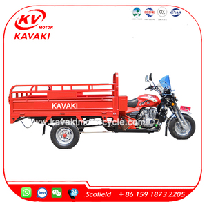 China Suppliers 3 Wheel Motorcycle Trailer 150CC Motorcycle Truck 3-Wheel Tricycle