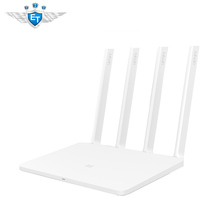 English Version Xiaomi Mi WiFi Router 3 Smart Router 4 Antennas 1167Mbps 802.11ac b/g/n WIFI Dual Band 2.4G/5G Supports APP