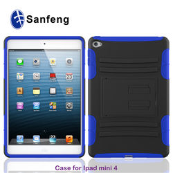 China manufacture wholesale tablet case for ipad mini 4 hard cover with many colors