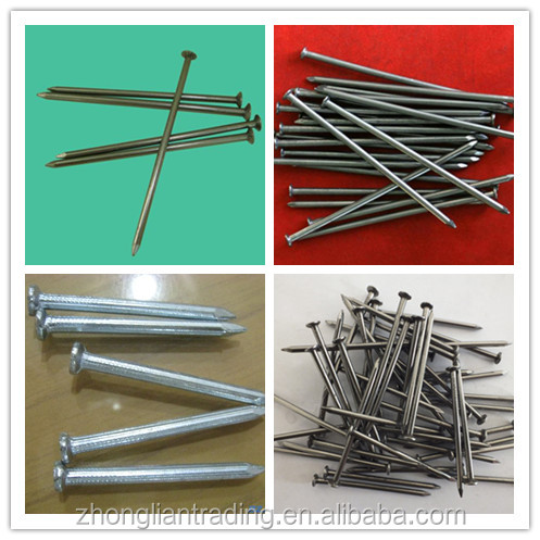 Round Head Polished Common Wire Steel Nails