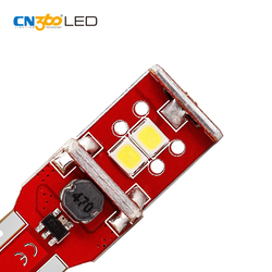 Car auto light 12v w5w lamp wedge base 5w5 socket t10 led canbus