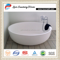small round artificial stone bathtubs for sale