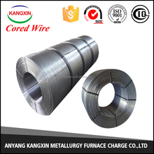 Anyang KANGXIN13mm CaSi Cored wire for Steelmaking