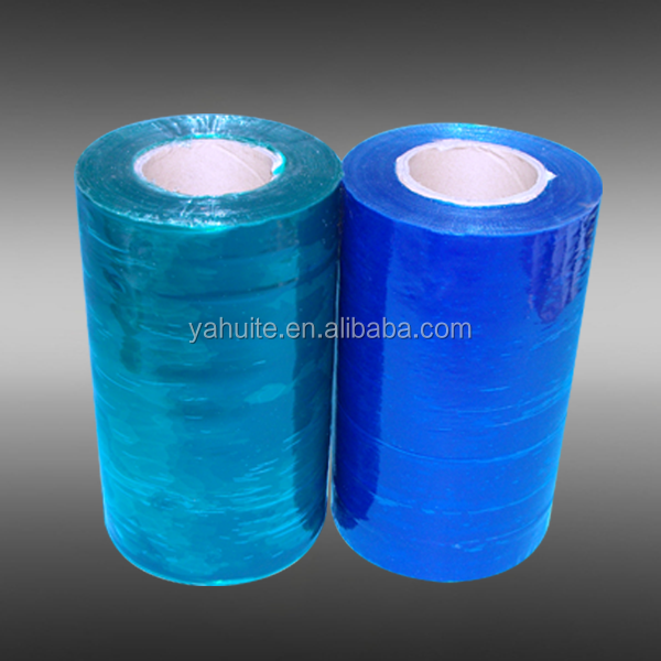 Clear stretch blue film for packing pallet wrapping