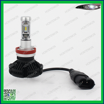 NF-X3 H8/H11 LED Headlight Bulbs Conversion Kit Series single Beam 3 Colors Change ZES Chips