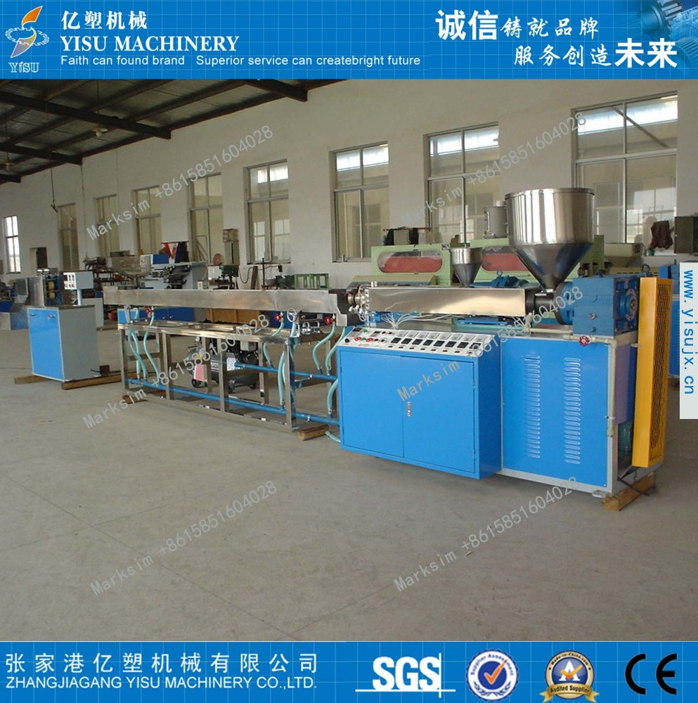 single color PP drinking straw production machine/extrusion line/making machine for three color or two color