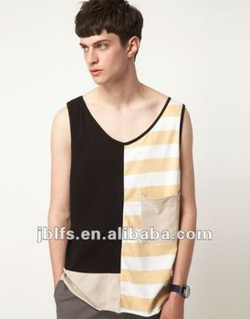 OEM high quality men's Vest with Oversized Pocket