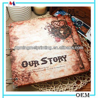 self adhesive inner page wedding photo album wholesale
