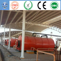 tires disposing and recycling system pyrolysis products of tire oil production line
