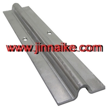 3 meters or 6 meters length track, bottom track for electric gates